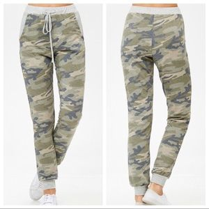 Muted Camo French Terry Cloth Joggers